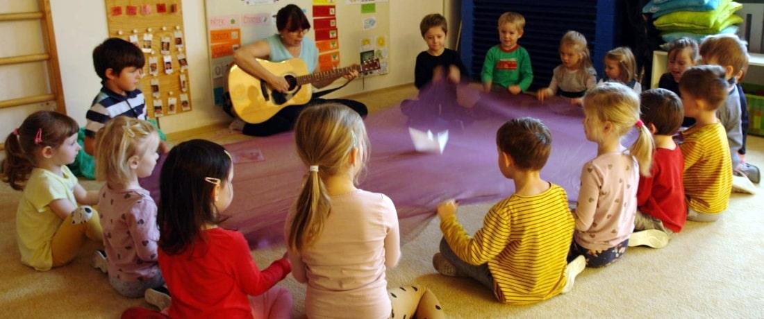 Zpívání na ranním kruhu